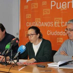 C's Puertollano ve prioritaria la convocatoria de una mesa de diálogo para resolver la deuda del Consistorio por las obras del Ciclo Integral del Agua