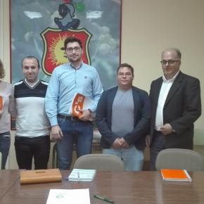 Reunión del subdelegado territorial de Ciudadanos en Ciudad Real con ATESCAM para hablar sobre la situación actual del transporte sanitario de Castilla – La Mancha