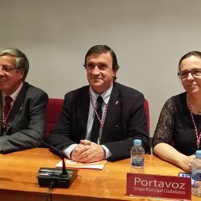 C's Puertollano vota en contra de la subida de tasas propuesta por  PSOE e IU