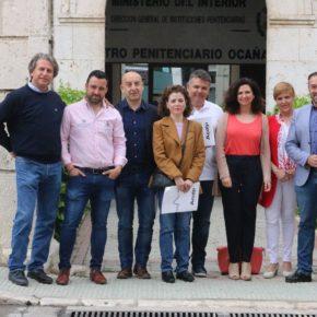 Cs C-LM se reúne con el sindicato de funcionarios de prisiones para conocer de primera mano sus necesidades
