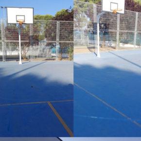 Cs Socuéllamos solicita que se retiren todos los avisperos de las pistas deportivas de baloncesto