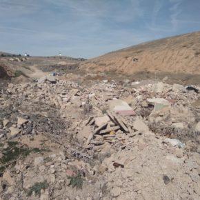 Cs Herencia pide al Ayuntamiento que traten los escombros como establece la normativa