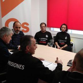 Cs Ciudad Real se reúne con la Asociación de Funcionarios de Prisiones