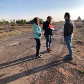 Cs Villanueva de la Fuente urge a la Junta el arreglo de la carretera CM- 3202