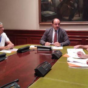 Los ediles de Cs Puertollano trasladan a su diputado nacional los problemas del municipio para darles solución desde el Congreso de los Diputados