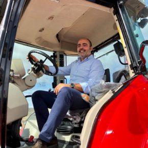Francisco Fdez-Bravo visita la Feria del Mundo Rural en Moral de Calatrava