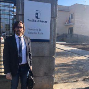 Ciudadanos Villanueva de la Fuente: Luis Mendozamantiene una reunión con la delegada de Bienestar Social para ampliar el número de plazas de la Residencia de Villanueva