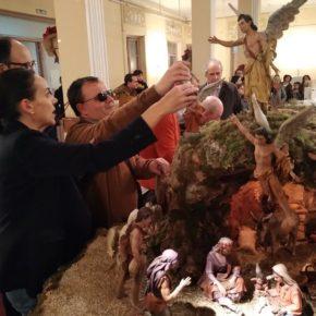Ciudadanos (Cs) Ciudad Real | La teniente de alcalde Eva María Masías visita el Belén Monumental de Ciudad Real