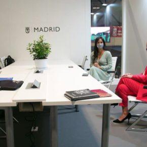 Ciudadanos (Cs) Ciudad Real | La próxima alcaldesa de Ciudad Real, Eva Masías, se reúne en FITUR con la vicealcaldesa de Madrid